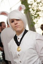 Cosplay-Cover: Weißes Kaninchen [Back on Stage Bühnenoutfit]