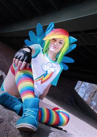 Cosplay-Cover: Rainbowdash [remake]