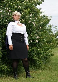 Cosplay-Cover: Glynda Goodwitch