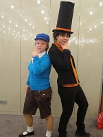 Cosplay-Cover: Prof Layton