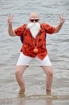 Cosplay-Cover: Muten Roshi/Herr der Schildkröten *Beach Version*