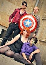 Cosplay-Cover: Captain Steve Rogers (Militär Uniform)