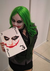 Cosplay-Cover: Joker (weibliche Variante)