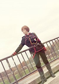 Cosplay-Cover: Romano - Black Uniform