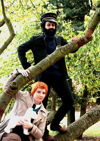 Cosplay-Cover: Tintin