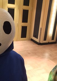 Cosplay-Cover: Shy Guy (Blau)