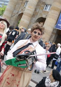 Cosplay-Cover: Leatherface (Texas Chainsaw Massacre)
