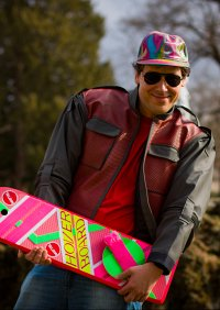 Cosplay-Cover: Marty McFly 2015er Version