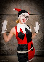 Cosplay-Cover: The Harlequin (60er Jahre Batman Comic)