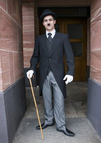 Cosplay-Cover: Charlie Chaplin