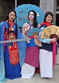 Cosplay-Cover: Mulan (Verbotende Stadt)