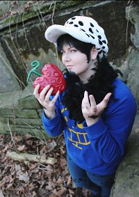 Cosplay-Cover: Trafalgar D. Water Law [ Thousand Sunny ]