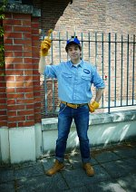Cosplay-Cover: Fix-it-Felix Jr.