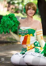 Cosplay-Cover: Hanayo Koizumi (Cheerleader)