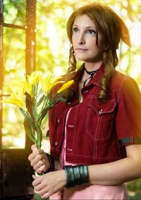 Cosplay-Cover: Aerith Gainsborough (Advent Children)