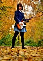 Cosplay-Cover: Yui Hirasawa (School Uniform)