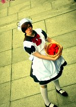 Cosplay-Cover: Chibimano [South Italy/Romano] (Brown Dress)