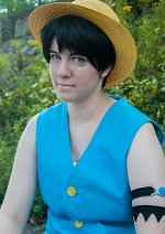 Cosplay-Cover: Monkey D. Luffy (Amazon Lily)