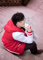Cosplay-Cover: Osomatsu Matsuno (おそ松さん x J!NS x BANDAI)