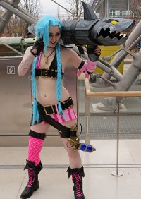 Cosplay-Cover: Jinx the Loose Cannon