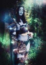 Cosplay-Cover: Nachtelfen Druidin