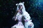 Cosplay-Cover: Alpaca gijinka