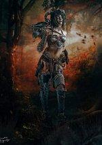 Cosplay-Cover: demon Faun [own design]