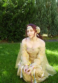 Cosplay-Cover: Padmé Amidala - Picknick Kleid