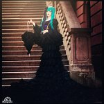 Cosplay: Hatsune Miku ❀ Sandplay Singing of the Dragon ❀