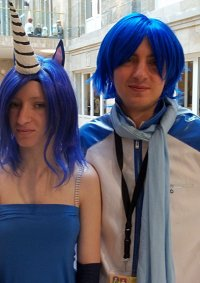 Cosplay-Cover: Blue Unicorn from Charlie the Unicorn