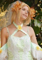 Cosplay-Cover: Cagalli Yula Athha [Green Wedding Dress]