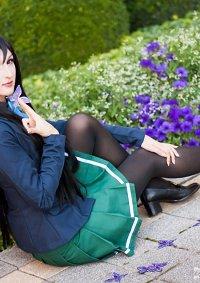 Cosplay-Cover: Kuroyukihime (schooluniform)