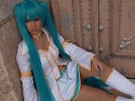 Cosplay-Cover: Hatsune Miku - Imitation White