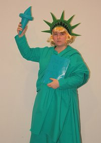 Cosplay-Cover: Female America [Miss Liberty Fanart Version]