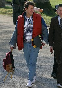 Cosplay-Cover: Marty McFly 1985er Version