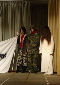 Cosplay-Cover: Sadako/Ringu und Kayako/Ju-on Mischviech