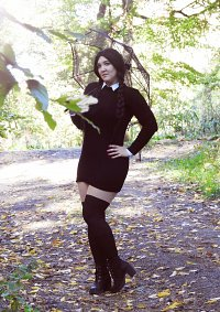 Cosplay-Cover: Wednesday Addams