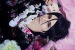 Cosplay-Cover: Sebastian Michaelis [Kimono]