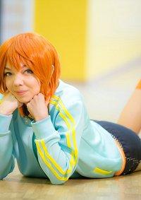 Cosplay-Cover: Rin Hoshizora [Cheerleader unidolized]