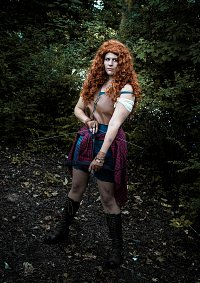 Cosplay-Cover: Merida - The Walking Disney