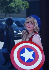 Cosplay-Cover: Captain America [Female]