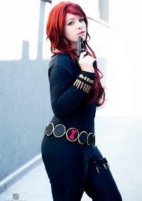 Cosplay-Cover: Black Widow (Comic vers.)