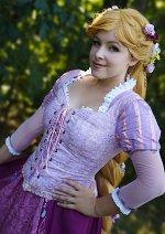 Cosplay-Cover: Rapunzel (Blumenperücke)