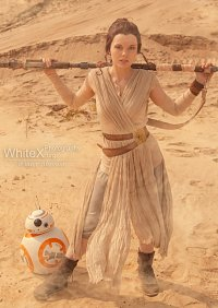 Cosplay-Cover: Rey (Star Wars VII)