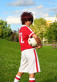 Cosplay-Cover: Daisuke Motomiya [Fußball-Outfit] - 本宮 大輔