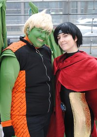 Cosplay-Cover: Wiccan (Billy Kaplan)