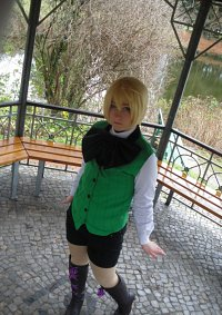 Cosplay-Cover: Alois Trancy (ohne Mantel)