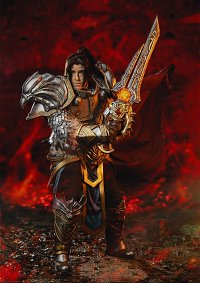 Cosplay-Cover: Varian Wrynn
