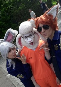 Cosplay-Cover: Dawn Bellwether [Prison Uniform]