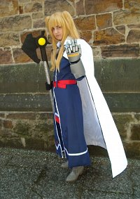 Cosplay-Cover: Fate T. Harlaown
